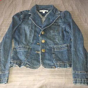 Tommy Hilfiger ladies jean jacket size 6